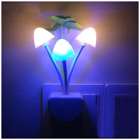 Sensor Muti-color Changing Mushroom Night Lamp