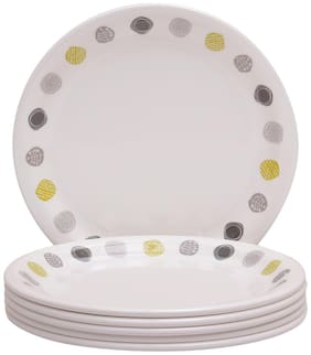 Servewell Dot Art Round 6 Pieces Dinner/ Full Plates