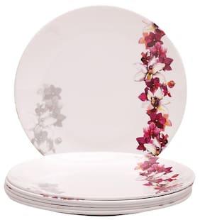 Servewell Pink Venise 6 Pieces Side/ Quarter Plates