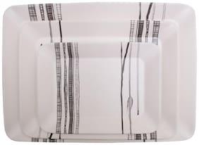 Servewell Stripes Stylo Trays Set of Three