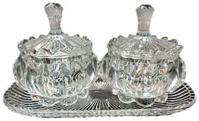 SERVING BOWLS (SET OF TWO)
