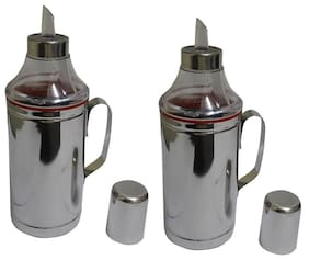 Set of 2 Oil dropper with handle - 1000 ml each