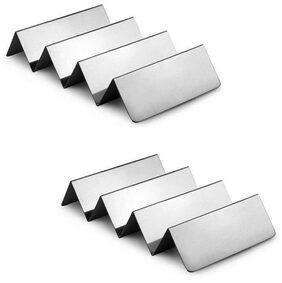 Set of 2 Stainless Steel Taco Holder