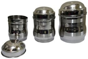 Set of 3 Maharaja Tool touch canisters