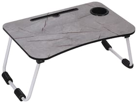SETIST Foldable Laptop Table with Cup Holder;Charging Cable & IPad/Tablet Slot