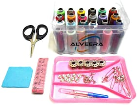 Sewing kit, Daily Needs Multipurpose Travel Kit with All Accessories, Sewing Threads & Stitching Materials