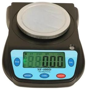 SF 400D Electronic Compact Weighing Scale for Jewellery, Kitchen, Laboratory and office with max capacity 500 gm