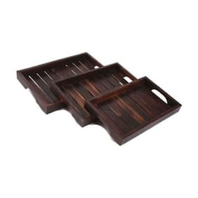 SG Artistic Wooden Tray
