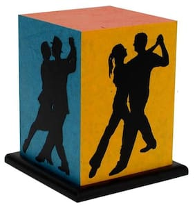 Shady Ideas Dance With Me LED Table Lamp - Multicolour - 5.5x5.5x7 inches