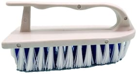 Shagun Long Lasting Heavy Duty Plastic Soft Cloth Hand;e Brush for Jeans, T-Shirts, Shirt, Any Kind of Cloth Easy Cloth Cleaning Brush (Pack Of 1)