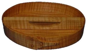 Shaker Bureau Tray Small in Flame Maple Woods, Lacquer Finish