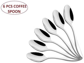 Shapes Oslo 304 grade, 18/10 & Cup Rolled Coffee Spoon 6 Pcs