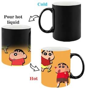 Shinchan Cartoon Magic Mug for Friends/Birthday Gifts for Kids/Return Gifts by Ashvah -MagicMug2069
