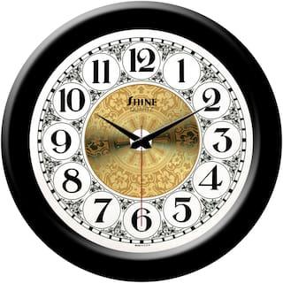 Yes Celebration Plastic Analog Wall clock ( Set of 1 )