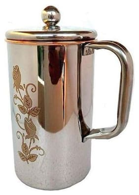 STEEL COPPER LAZER ART JUG 1500 ML