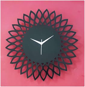 Shiva Arts Black Wall clock
