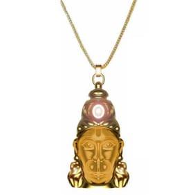 Shivansh Hanuman Chalisa Yantra with Gold Platted Chain