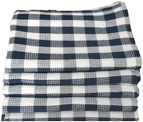 Shop By Room Waffle Weave 100% Cotton Quick Dry Hand Towel/Table Napkin - Set of 5-18 x 26 inch