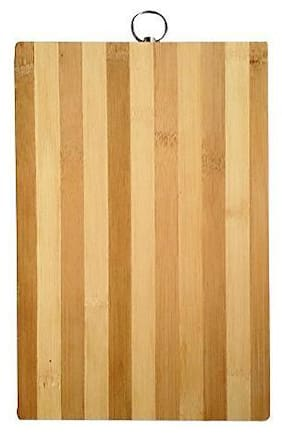 Shopeleven Wooden Cutting Board Vegetable;Fruit;Meat Vegetable Cutting Board Chopping Board;Wooden Cutting Board Multicolor Kitchen Tool (pack of ) Reversiable
