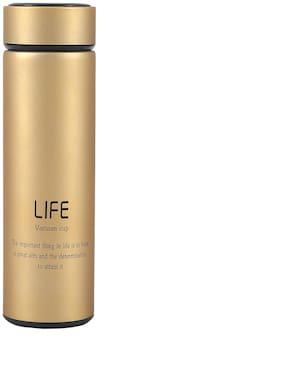 Shopizone Brown Thermosteel bottles ( 500 ml , Set of 1 )