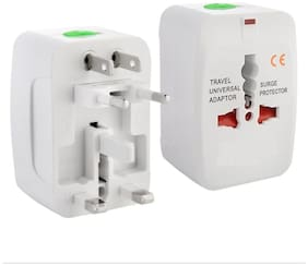 Shopo's 's Universal All In World Wide Travel Charger Multi Plug Adapter