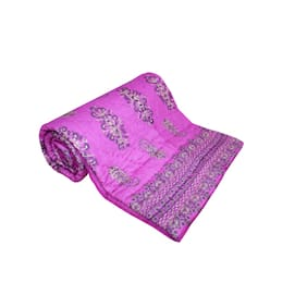 Shopping Rajasthan Exclusive Traditional Jaipuri Handmade Printed Double Bed Quilt
