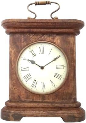 Shoptreed Wood Digital Table clock ( Set of 1 )
