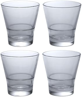 Shot Mark Bearing Bar Glasses (Set Of 4)