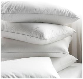 Shree jee Plain Bed/Sleeping Pillows(Pack of 4))