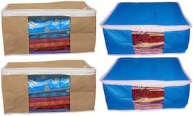 Shree Jee Saree Cover/Storage Bags(Pack Of 4)