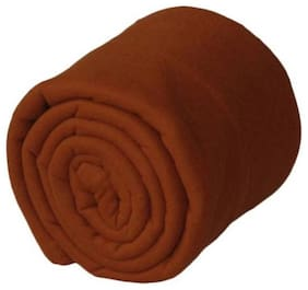 Shree Jee Single Bed Fleece Blanket (Pack of 1)
