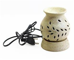 Shree & Shreeman Ethnic Electric Aroma Diffuser/Burner Matt Aroma Diffuser;Fragrance: Lavender