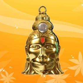 Shri Hanuman Chalisa Kavach Yantra Locket Original Gold Plated