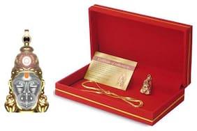 Shri Hanuman Chalisa Yantra Locket Kawach with  Chain