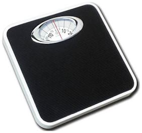 Shrines Analog Weight Machine Capacity 120Kg Manual Mechanical Full Metal Body Analog Weighing Scale