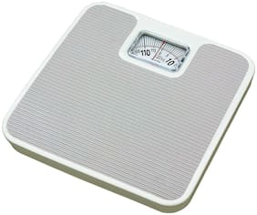 shrines Analogue Manual Mechanical Weighing Machine for Human Body (Grey)