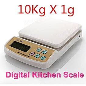 Shrines Best Quality10 kg Electronic Kitchen Food Weight Scale FROM 1G TO 10000G SF 400 A