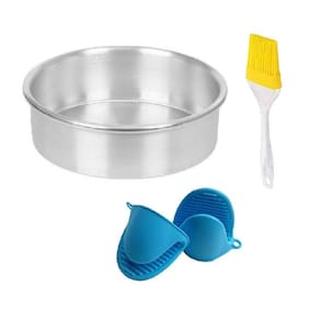 Shrines Aluminium Multi Bakeware combos ( Set of 4 )