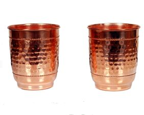 Shrines Copper Water Glass (set of 2)