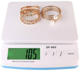 shrines Electronic Compact Scale - SF 803, Range 30 kg, 1g Accuracy, 255 mm x 235 mm x 60 mm