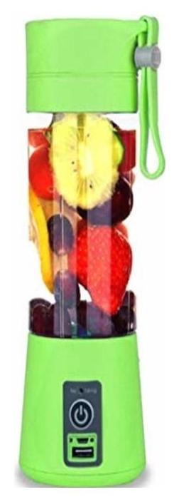 Shrines Portable USB Electric Fruit Citrus Juicer Bottle Handheld Milkshake Smoothie Maker Rechargeable Juice Blender 12 W Juicer  (Multicolor, 1 Jar)