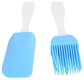 Shrines Silicone Assorted Oil Brushes ( Set of 2 )