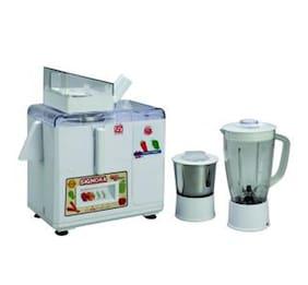 SignoraCare SJG-3100 450 w Mixer grinder ( White , 2 jars )