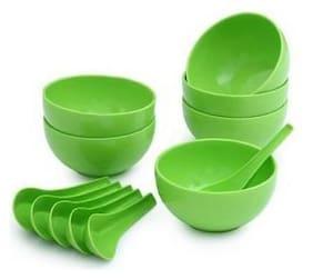 Silaniya Soup Bowl Set of 6(6 Spoon & 6 Bowl)