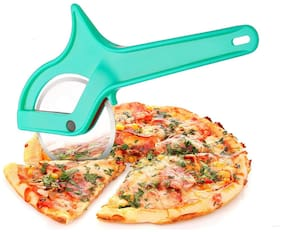 Silaniya  Stainless Steel Pizza / Sandwich / Burger Slicer with Handle;Multipurpose Cutter for Kitchen (Assorted)