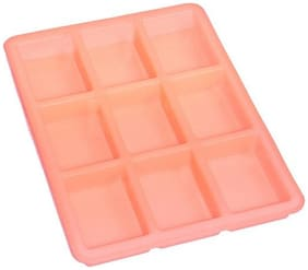 Silicomolds Rectangular Silicone Soap Mold - 9 Cavities