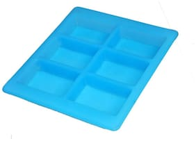 SILICOMOLDS Rectangular Soap Making Mold - 150gms
