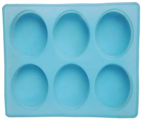 SILICOMOLDS Oval Soap Making Moulds -150 gm
