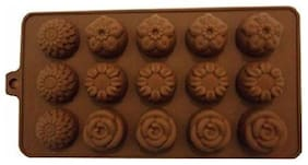 Silicon Choclate Mould Flower Shape