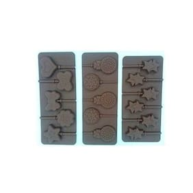 VFS VARDHMAN Silicone Brown Moulds ( Set Of 3 )